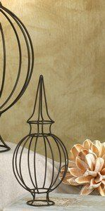 """Small Wire Trellis~Dome ~ Wedding Centerpiece by colonial. $5.99. Small Wire Trellis. 3½"""" wide and 8"""" tall. Display this small wire trellis on your desk, or use it to add interest to a terrarium or display."""