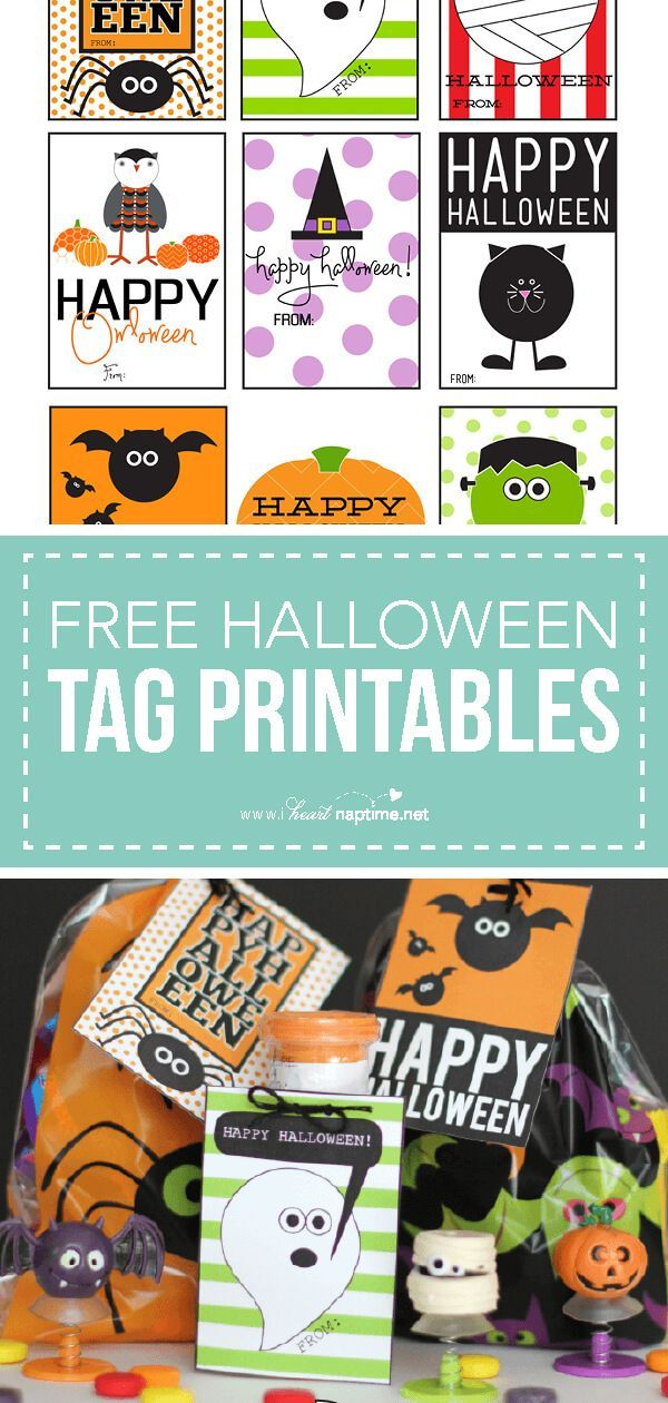 photograph relating to Free Printable Halloween Tags identify Delighted Halloween Tags totally free printable i ♥ Halloween