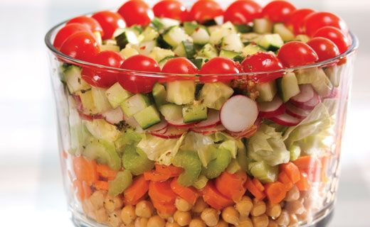 Epicure's Layered Summer Salad
