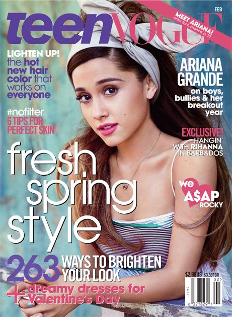 Cover Star Ariana Grande Lets You See Inside Her Crazy, Charmed Life