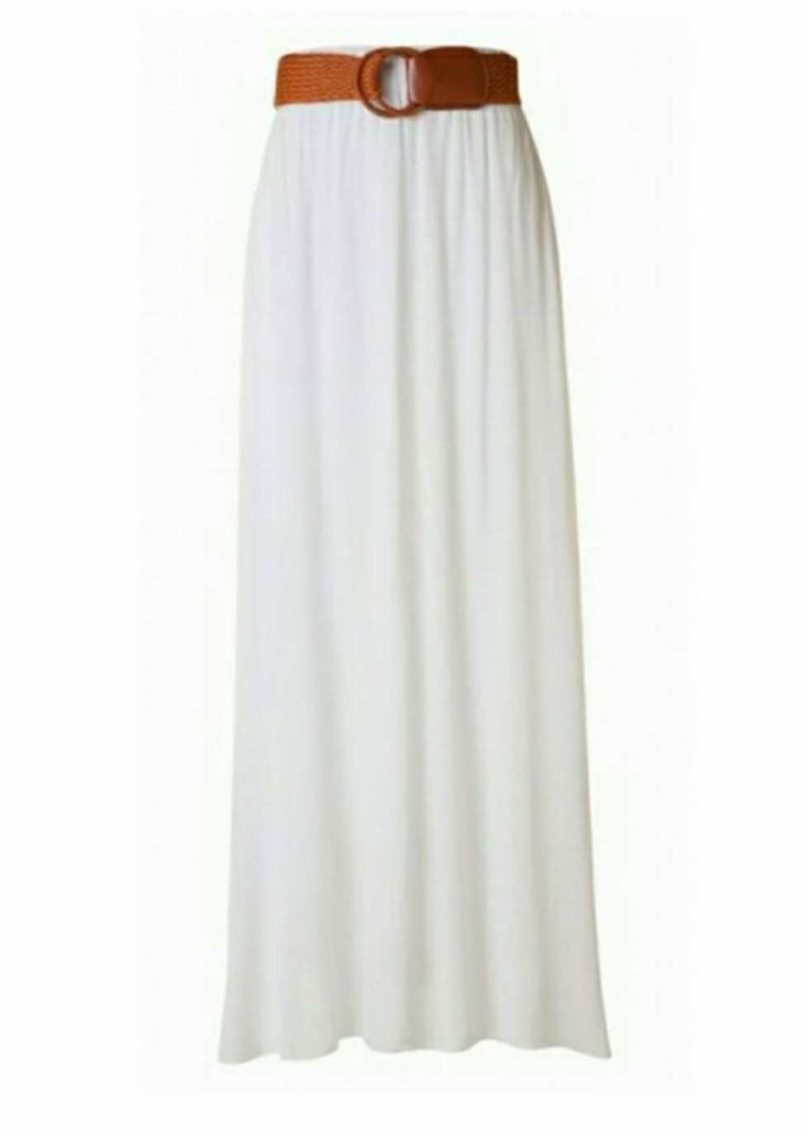 Soft, snow white maxi skirt! So flattering!  https://modli.co/snow-white-maxi-skirt.html?acc=cfcd208495d565ef66e7dff9f98764da