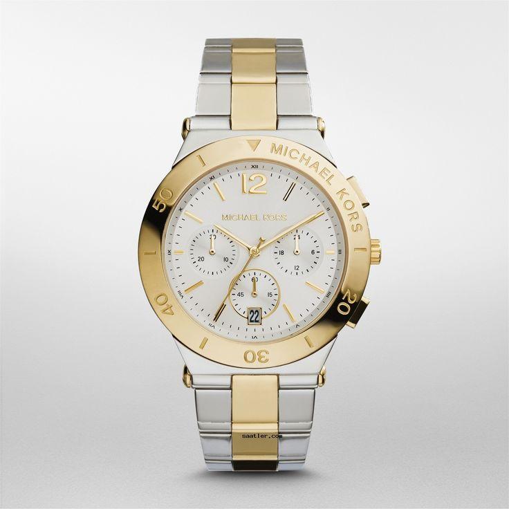 Michael Kors MK5934 Kol Saati https://www.saatler.com/michael-kors-mk5934-kol-saati/  Michael Kors MK5934 Kol Saati altın sarısının sıcağından zengin görünümünden vazgeçemeyenler için harika bir seçenek. Aynı zamanda gümüş rengi ile dengelenmiş bir güzelliği var. Kayışında gümüş rengine daha çok yer vererek altın rengi bu renk sayesinde daha da öne çıkaran bir parça. 40mm kasa çapı ile yuvarlak zamansız güzelliğe sahip bir saat. Kasasının kenarında markanın ismi de gösterişli olmak konusunda…