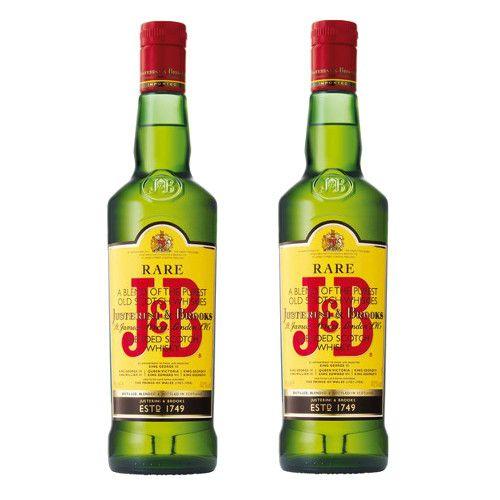 Whisky J&B 70 cl 40º LOT DE 2