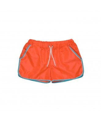 Maillot de Bain Savage orange fluo