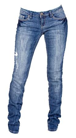 Distressed Skinny Jean - $39