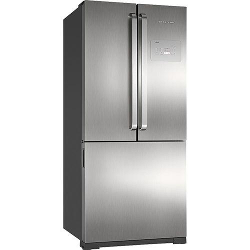 Americanas Geladeira / Refrigerador Brastemp Frost Free Side by Side Inverse 540 litros Platinum R$3320,92
