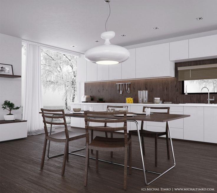 Contemporary Kitchen Tables 44 best contemporary kitchen designs images on pinterest