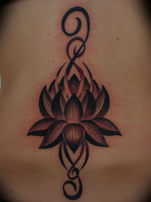 lotus flower tattoos tumblrtribal lotus flower tattoo tumblr 7 Tattoos Design Ideas Xw1T8fTK