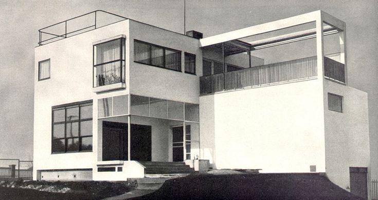 Architect's own villa, Evžen Linhart, Prague, Czechoslovakia 1926