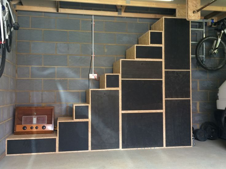 Garage Stairs Up To Loft