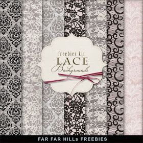 Freebie lace background