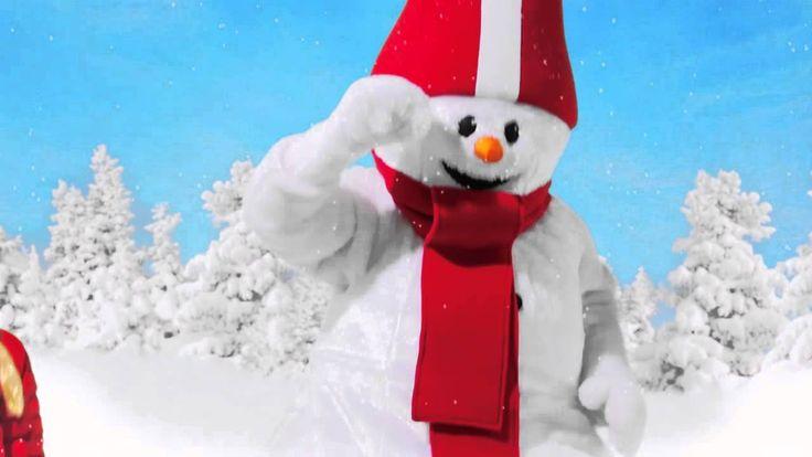 """""""Vi älskar snö"""" - med snögubben Valle."""
