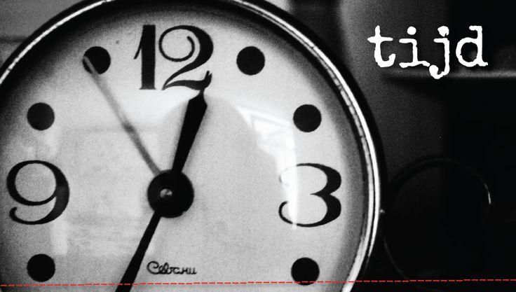 [BLOG] Deze week komt het thema 'tijd' op verschillende manieren mijn aandacht vragen. Gebeurtenissen in mijn vriendenkring, posts van verschillende mensen op facebook, maar ook bij mijzelf in de vorm van gedachtespinsels. Wat is dat toch met tijd?! Je denkt er vaak veel te weinig van te hebben en haast je van de ene naar de andere afspraak.