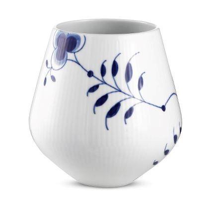 Royal Copenhagen - Vase Blaa Mega Riflet