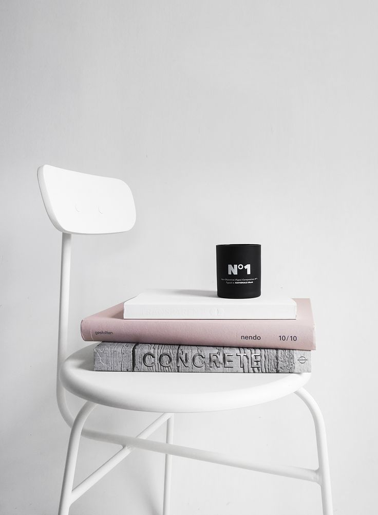 The Minimalist Home x Afteroom chair and Playtype candle