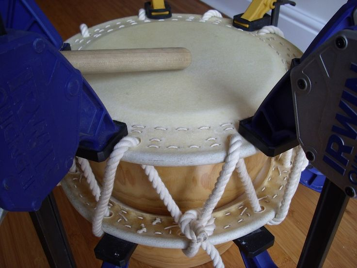 Test the sound when all clamps are in position and adjust tension where required.