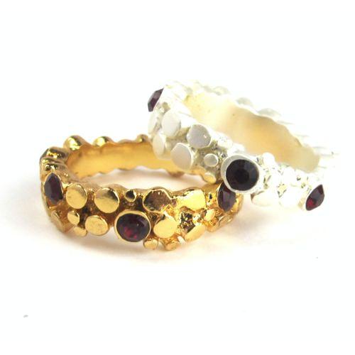 // Vergara Collection - Cetus Ring Gold - PAJAROLIMON