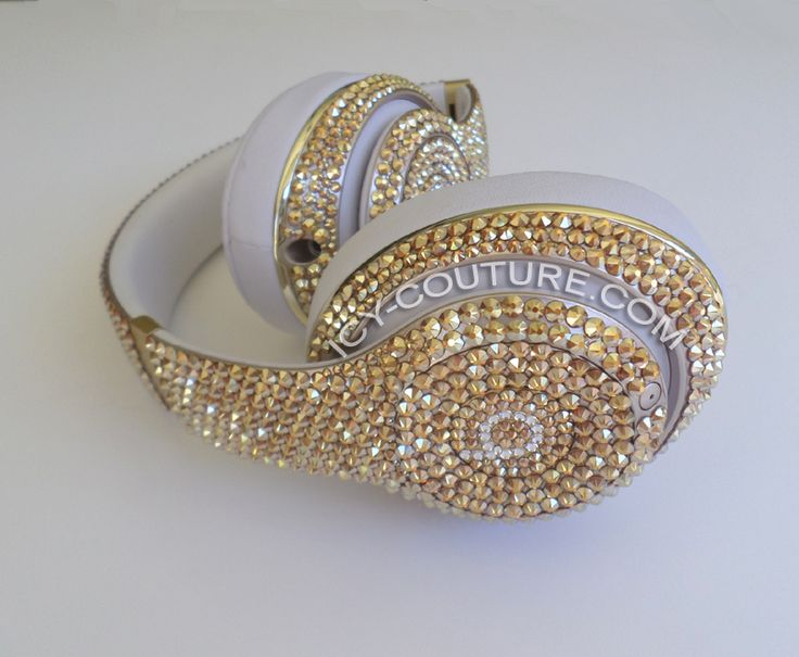 METALLIC SUNSHINE Custom Beats with Swarovski Crystals! Select Your Beats