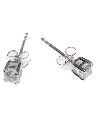 Brincos em Prata e Zircão Lapidado