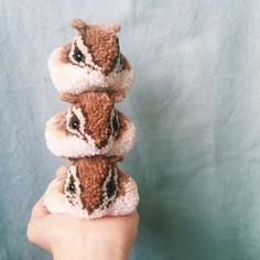 épinglé par ❃❀CM❁✿Look At These Amazing Animal Pom-Poms | Top Crochet Pattern Blog