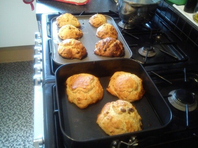 Mary Berry scones done! Delicious!