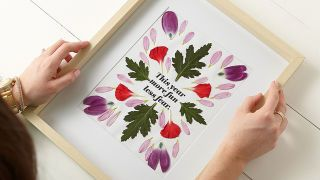 Frame Unusually Sized Art Affordably with Custom Mats