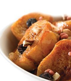 Capirotada - Mexican bread pudding