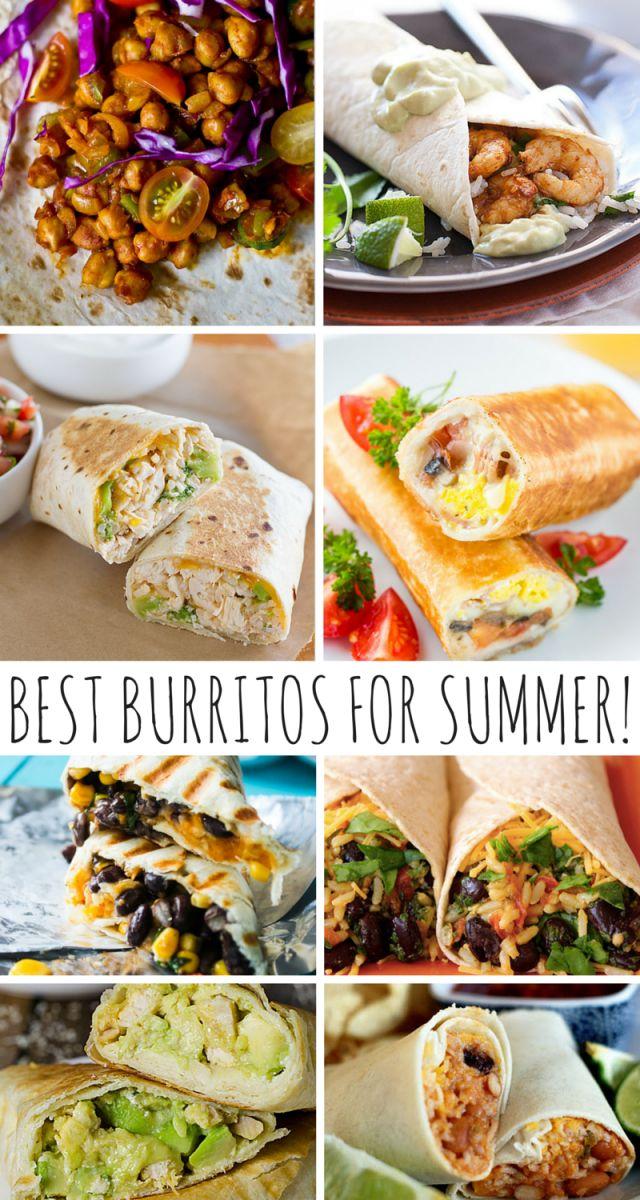 The Best Burritos For Summer!