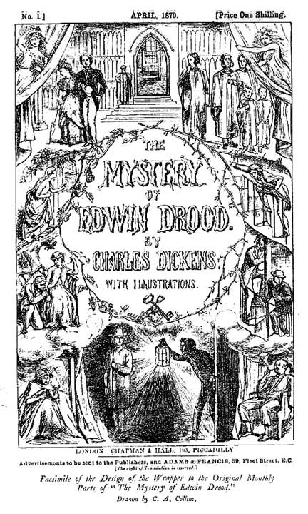 61 best a penny dreadful images on pinterest sweeney todd wrapper cover design for edwin drood by charles allston collins 1870 fandeluxe Choice Image