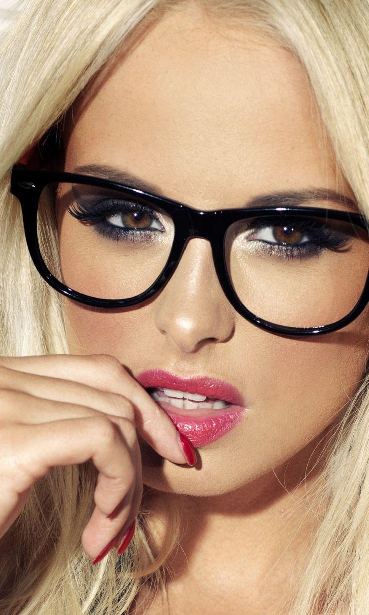 cute girl glasses wallpaper - photo #3