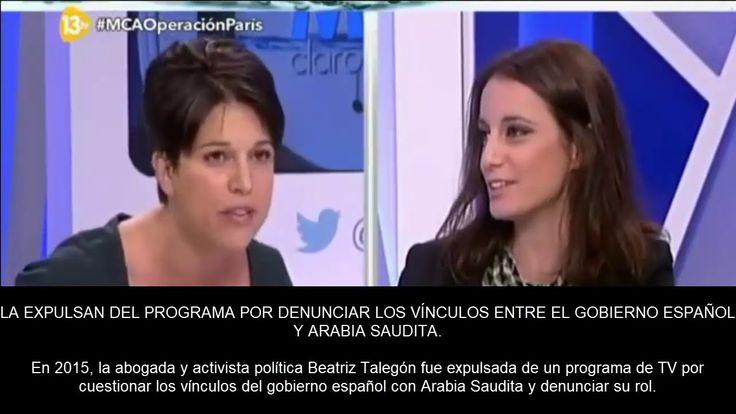 LA EXPULSAN DEL PROGRAMA POR DENUNCIAR LOS VÍNCULOS ENTRE EL GOBIERNO ES...