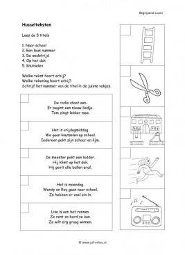 Begrijpend lezen - Husselteksten 08