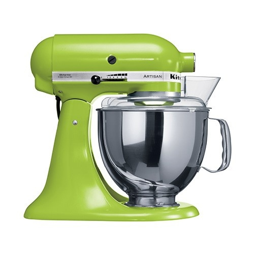 KitchenAid Artisan KSM150 Stand Mixer Green Apple. To contribute click on https://www.whatwewishfor.com/davenchristie/giftRegistry/21754. To buy outright click picture twice.