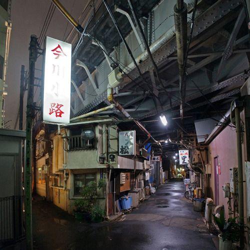 夜散歩のススメ「今川小路」東京都千代田区、中央区