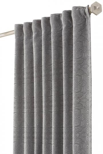 Marcel Drapery Panel - Window Curtains - Drapes - Curtain Panel - Chenille Curtains - Room Darkening Curtains | HomeDecorators.com