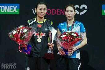 Yonex Denmark Open 2013: Yihan Wang - Ji Hyun Sung: 16-21 21-18 22-20