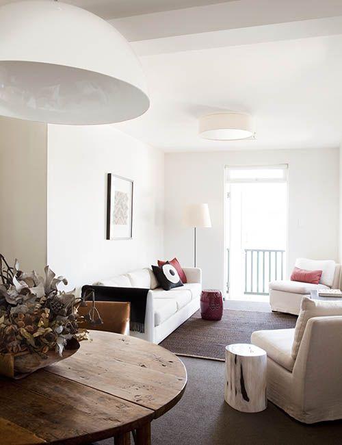 BALMAIN WHARF APARTMENTS | alwill  #interiors #livingroom #diningroom #pendant