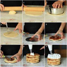 Torta Alfajor. Usar Dulce de Leche Repostero!