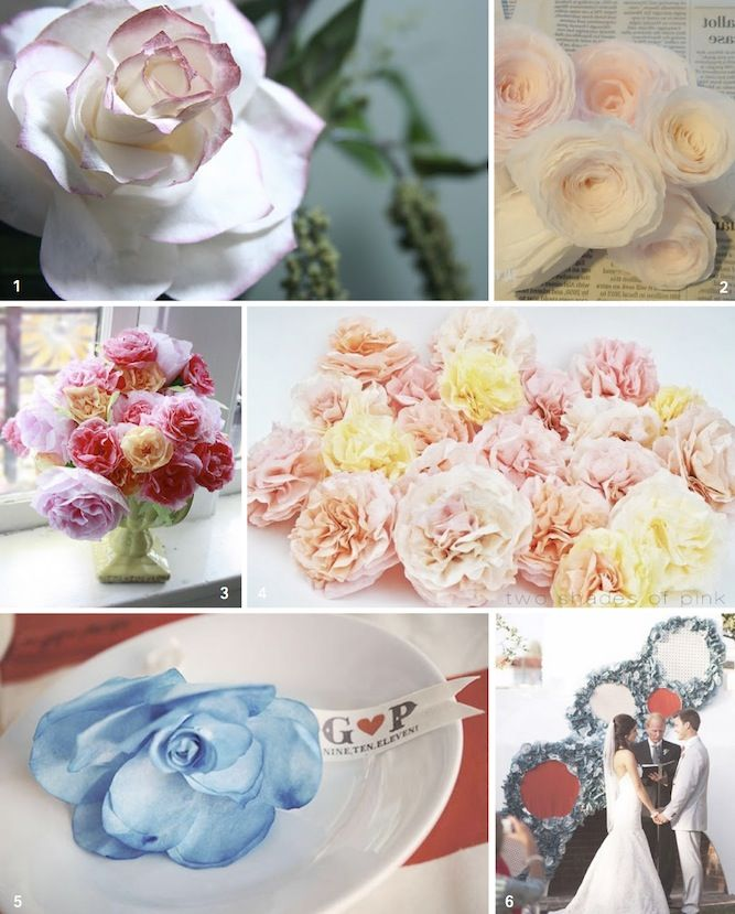 DIY Coffee Filter Flowers Tutorial Round Up