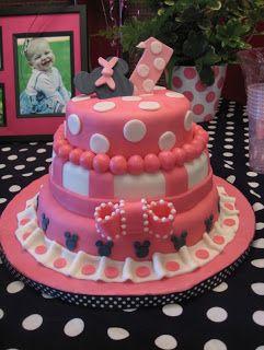 Minnie Mouse Bebé - Decoración de Fiestas Infantiles