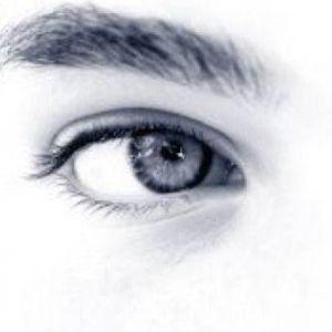 Mooie witte ogen