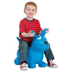 Buy Happy Hopperz Blue Dog from our Ride Ons range - Tesco.com