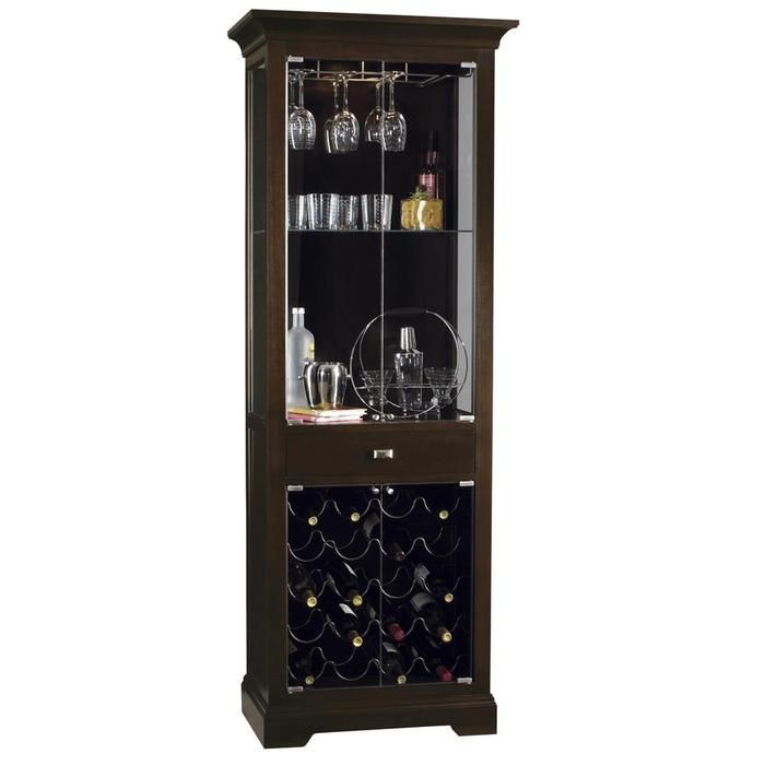 Howard Miller Metropolis Wine And Spirits Cabinet