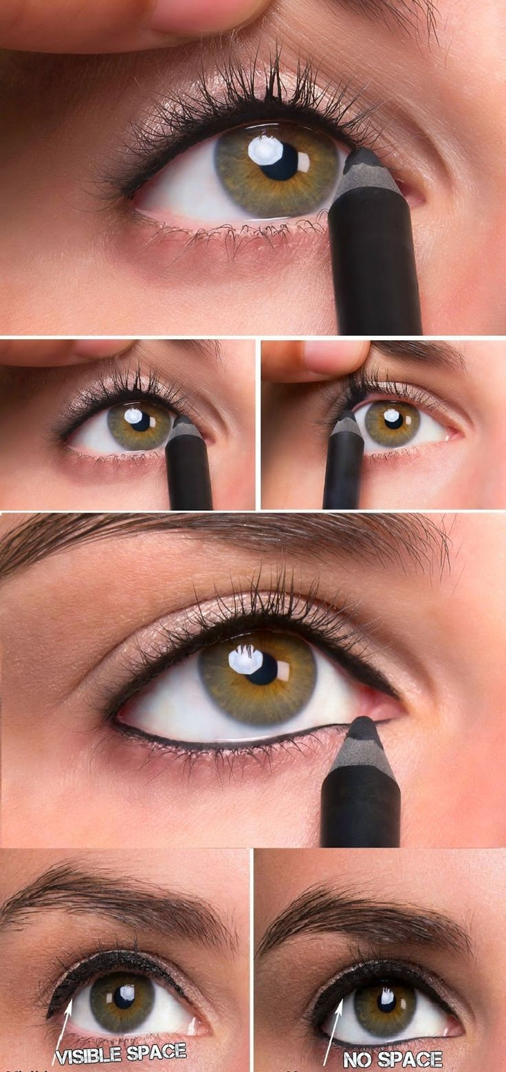 How to : Tightline Eye Makeup