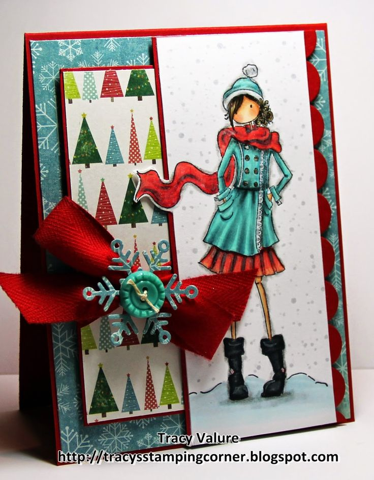 Tracy's Stamping Corner: Cozy Warm Wishes.....