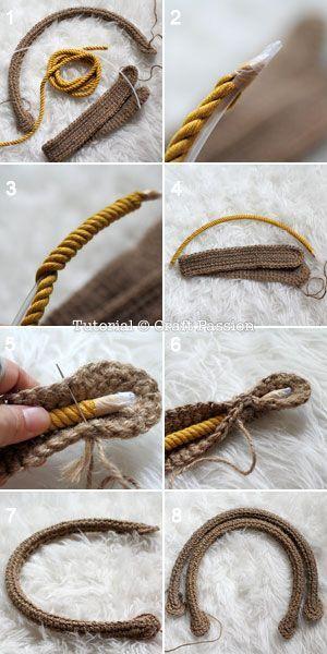 Crochet Handle - Tutorial: