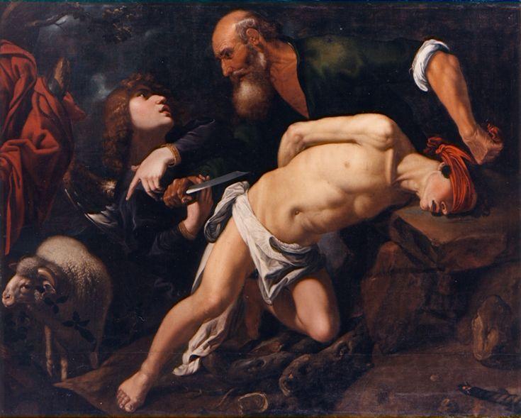 Pedro Orrente, Le Sacrifice d'Isaac