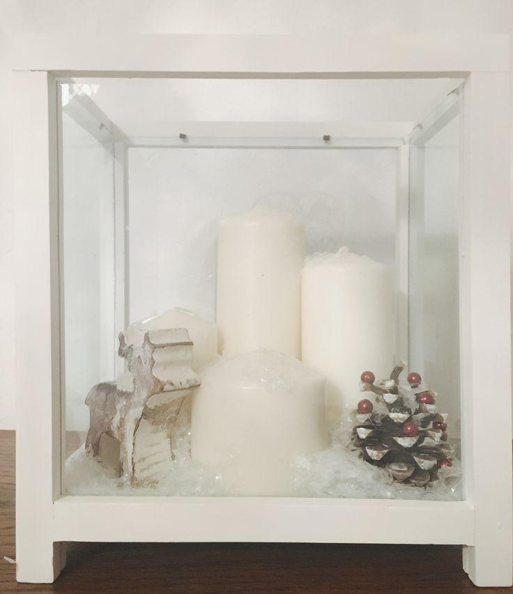 Vánoční výzdoba v duchu nordic styl :)