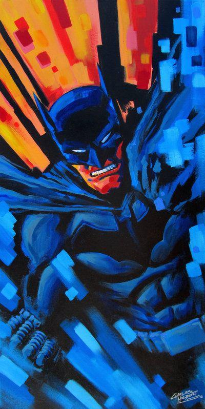Batman Painting by ~KidNotorious on deviantART