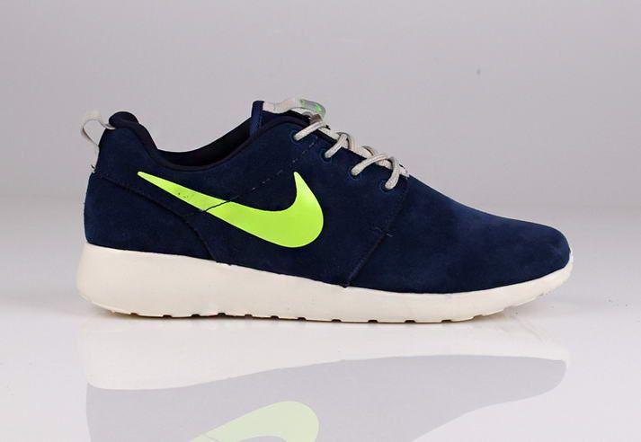 1YxPKlcG Navy Green Nike RoShe Run Anti Fur London Olympics Light Running